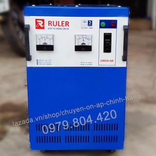 Ổn Áp Ruler 10KVA Dải 90-250V, Bảo Hành 4 Năm, Dây Đồng - ruler10kva-90 thumbnail