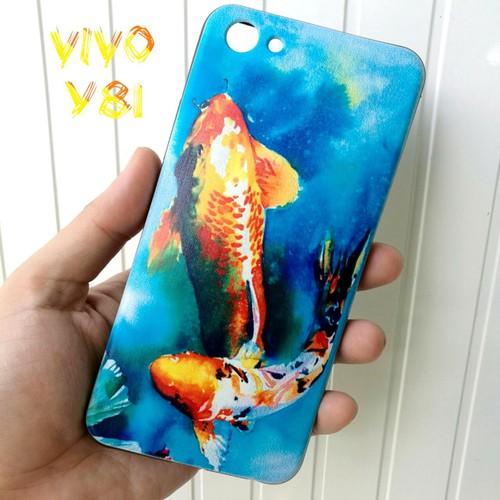 Ốp Lưng Vivo Y81 Cá Chép Koi Song Ngư