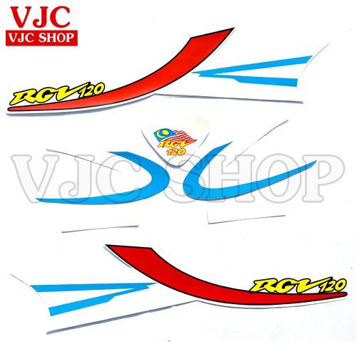 Bộ tem xe RGV 120 màu xanh - 6861457 , 13579678 , 15_13579678 , 199000 , Bo-tem-xe-RGV-120-mau-xanh-15_13579678 , sendo.vn , Bộ tem xe RGV 120 màu xanh