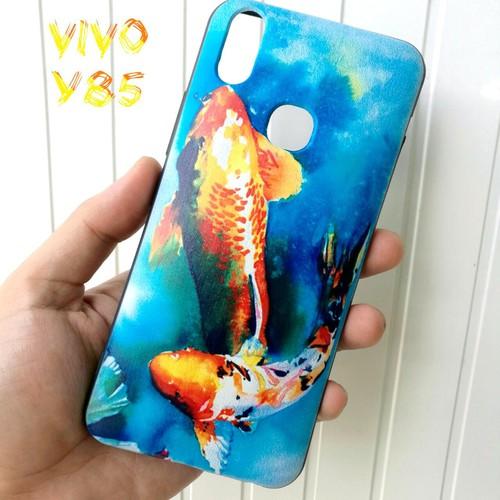 Ốp Lưng Vivo Y85 Cá Chép Koi Song Ngư