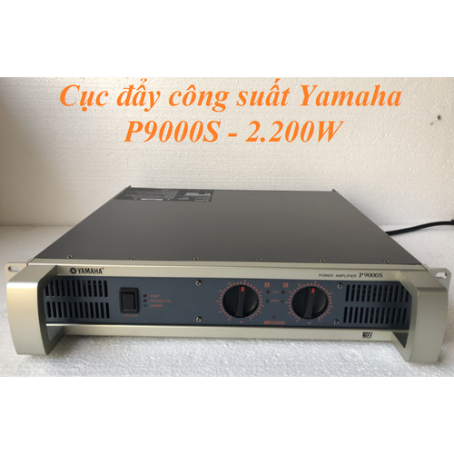 Cục đẩy công suất Yamaha P9000S 40 sò lớn