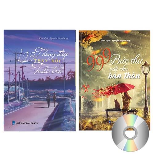 Combo sách 999 Bức Thư viết cho bản thân + 123 Thông điệp thay đổi tuổi trẻ