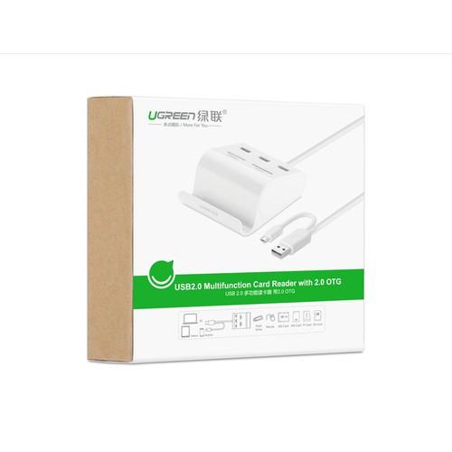 Bộ chia USB 2.0 Ugreen 30340 tích hợp OTG, đầu đọc thẻ nhớ- GÍA CỰC HOT - 4585899 , 13580199 , 15_13580199 , 299000 , Bo-chia-USB-2.0-Ugreen-30340-tich-hop-OTG-dau-doc-the-nho-GIA-CUC-HOT-15_13580199 , sendo.vn , Bộ chia USB 2.0 Ugreen 30340 tích hợp OTG, đầu đọc thẻ nhớ- GÍA CỰC HOT