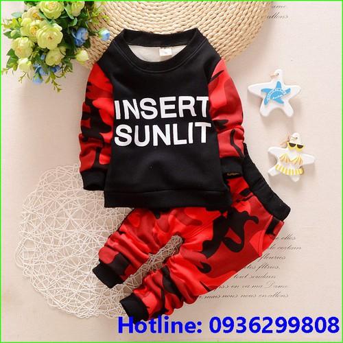 quần áo bé trai - quần áo lót lông ấm