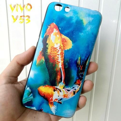 Ốp Lưng Vivo Y53 Cá Chép Koi Song Ngư