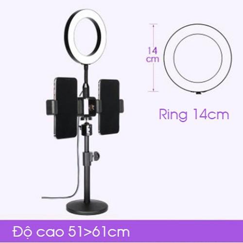 Giá đỡ 2 điện thoại live tream để bàn , Led ring 14cm-Đèn livestream - đèn led mekup - đèn led chụp ảnh - đèn led cao cấp - đèn led đa năng - đèn led làm móng tay - đèn led làm nail - đèn led siêu sán - 6861554 , 13579829 , 15_13579829 , 780000 , Gia-do-2-dien-thoai-live-tream-de-ban-Led-ring-14cm-Den-livestream-den-led-mekup-den-led-chup-anh-den-led-cao-cap-den-led-da-nang-den-led-lam-mong-tay-den-led-lam-nail-den-led-sieu-sang-den-led-xin-den-led-