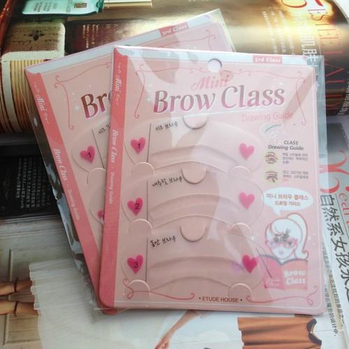Miếng vẽ chân mày brow class