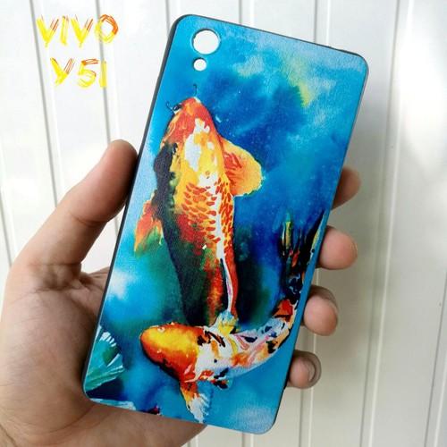 Ốp Lưng Vivo Y51 Cá Chép Koi Song Ngư