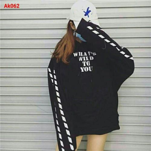 Áo hoodie nữ cá tính