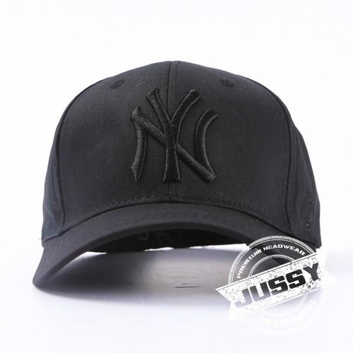 Nón Kết Nam Nữ, mũ lưỡi trai NY Full Black