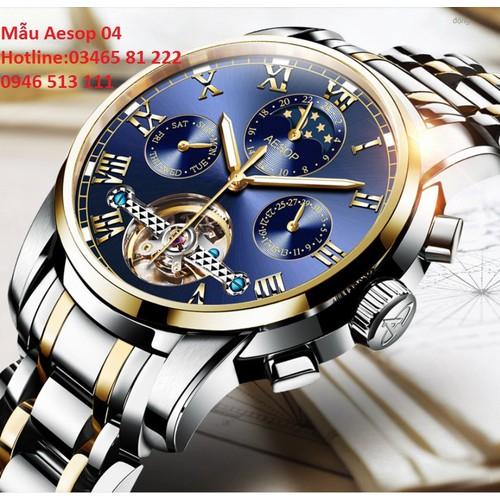 Mẫu đồng hồ cơ lộ máy cao cấp chính hãng Aesop  thời trang 2018 - 6862316 , 13580936 , 15_13580936 , 3900000 , Mau-dong-ho-co-lo-may-cao-cap-chinh-hang-Aesop-thoi-trang-2018-15_13580936 , sendo.vn , Mẫu đồng hồ cơ lộ máy cao cấp chính hãng Aesop  thời trang 2018