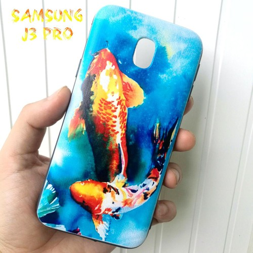 Ốp Lưng Samsung J3 Pro Cá Chép Koi Song Ngư