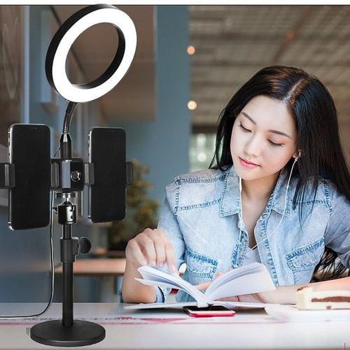 Giá đỡ 2 điện thoại live tream để bàn , Led ring 14cm-Đèn livestream - đèn led mekup - đèn led chụp ảnh - đèn led cao cấp - đèn led đa năng - đèn led làm móng tay - đèn led làm nail - đèn led siêu sán - 6861558 , 13579835 , 15_13579835 , 780000 , Gia-do-2-dien-thoai-live-tream-de-ban-Led-ring-14cm-Den-livestream-den-led-mekup-den-led-chup-anh-den-led-cao-cap-den-led-da-nang-den-led-lam-mong-tay-den-led-lam-nail-den-led-sieu-sang-den-led-xin-den-led-