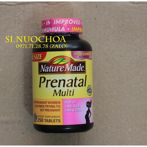 [ Sale ] Vitamin Tổng Hợp Cho Bà Bầu Prenatal Multi 250 viên