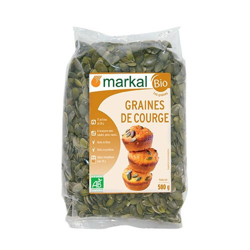 Hạt bí hữu cơ Markal 500g