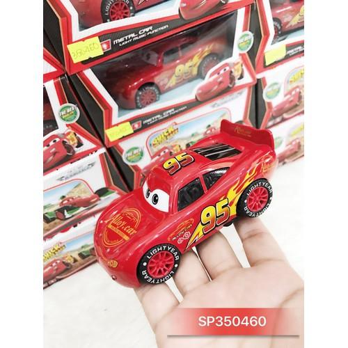 Hộp xe hơi sắt pin nhạc đèn McQueen 2014B2