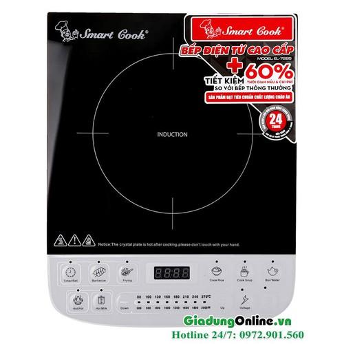 Bếp từ cao cấp Smartcook ICS-7285 Bảo hành chính hãng 25 tháng