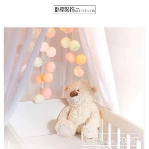 đèn cotton ball trang trí - 6882920 , 13604671 , 15_13604671 , 120000 , den-cotton-ball-trang-tri-15_13604671 , sendo.vn , đèn cotton ball trang trí