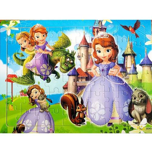 Tranh ghép hình công chúa - Ghép Hình Công Chúa Sofia Loại 120 Miếng Ghép