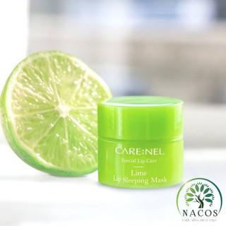Mặt Nạ Ngủ Môi Carenel Lip Sleeping Mask Lime Hương Chanh 5g By Nacos.Vn - MNMC 1