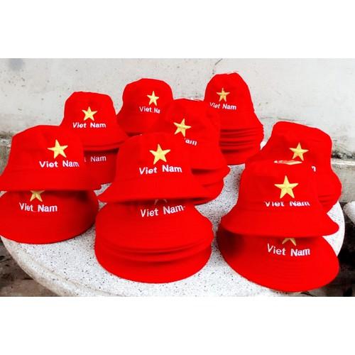 Nón cờ đỏ sao vàng rộng vành - 6869316 , 13589146 , 15_13589146 , 160000 , Non-co-do-sao-vang-rong-vanh-15_13589146 , sendo.vn , Nón cờ đỏ sao vàng rộng vành