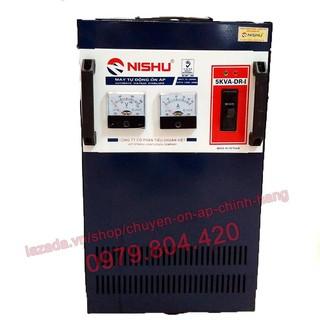 Ổn Áp Nishu 5KVA DR-I dải 50-250V, bảo hành 4 năm, dây đồng - nishu5vva-50 thumbnail