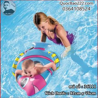 Phao bơi hình cá 81cm x 76cm trẻ 3-6 tuổi - Bestway 36111 - e36111 thumbnail