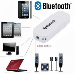 BỘ USB tạo Bluetooth biến loa thường thành loa thông minh, cho dàn âm thanh xe hơi amply loa Car Bluetooth...tặng kèm dây 3.5mm kết nối ra loa, âm ly