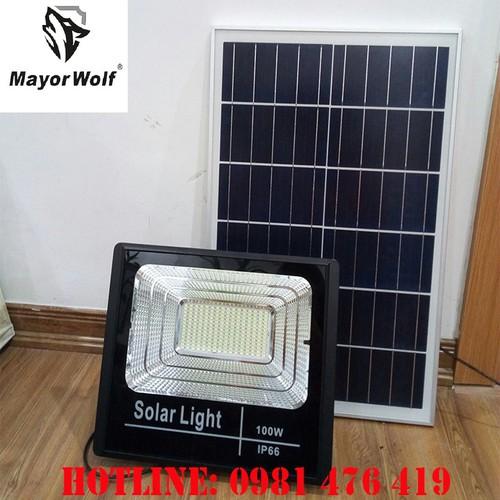 Đèn LED năng lượng mặt trời MAYOR WOLF P100W - MAYOR WOLF P100W