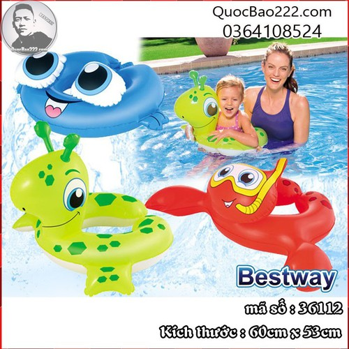 Phao bơi sinh vật biển ngẫu nhiên - Bestway 36112