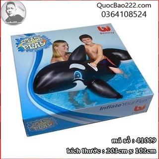 Phao bơi hình cá heo 2.03m x 1.02m - Bestway 41009 - d41009 thumbnail