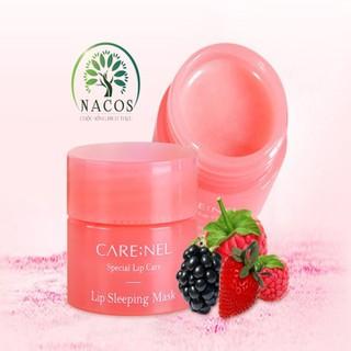 Mặt Nạ Ngủ Môi Carenel Lip Sleeping Mask Berry Hương Dâu Mini Size 5g By Nacos.Vn - MNMS thumbnail