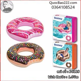 Phao bơi hình bánh ngọt 1.07m - thích hợp mọi độ tuổi - Bestway 36118 - b36118 thumbnail