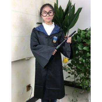 Huamai02 áo Choàng Harry Potter Hóa Trang Cosplay Phù Hiệu Màu Xanh