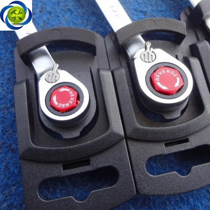 Cờ lê vòng miệng tự động Action 17mm có khóa 3