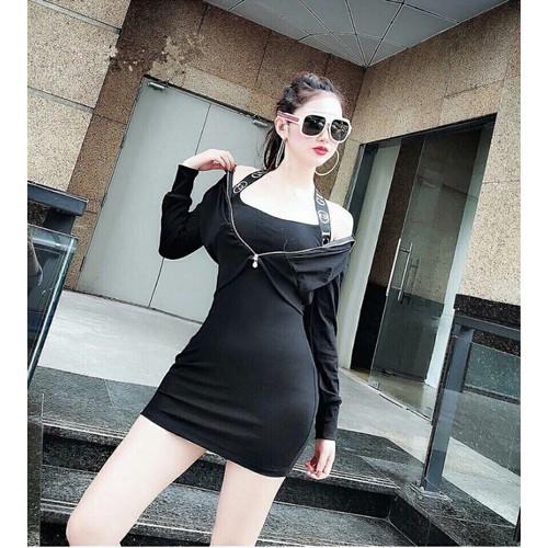 Đầm ôm kèm áo khoác sexy - 6878039 , 13599076 , 15_13599076 , 105000 , Dam-om-kem-ao-khoac-sexy-15_13599076 , sendo.vn , Đầm ôm kèm áo khoác sexy