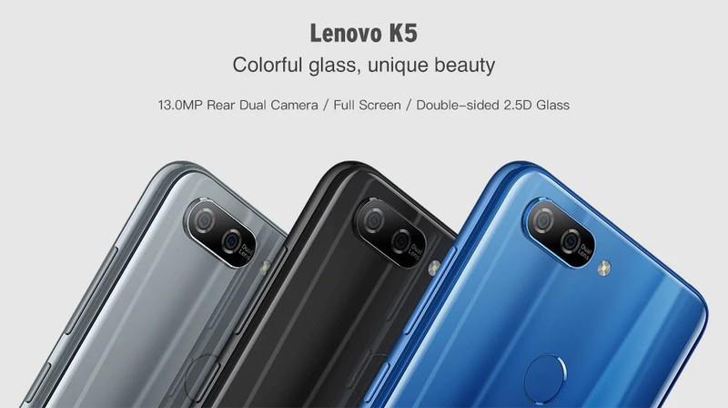 Điện thoại Lenovo K5 Ram3GB fullbox 3