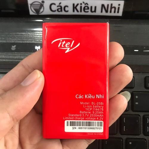 Pin iTel BL-25Bi cho IT5600 IT5602 IT5603 IT5610 IT5613 IT5616 IT5620 IT5625 zin hãng - 6870847 , 13591159 , 15_13591159 , 135000 , Pin-iTel-BL-25Bi-cho-IT5600-IT5602-IT5603-IT5610-IT5613-IT5616-IT5620-IT5625-zin-hang-15_13591159 , sendo.vn , Pin iTel BL-25Bi cho IT5600 IT5602 IT5603 IT5610 IT5613 IT5616 IT5620 IT5625 zin hãng