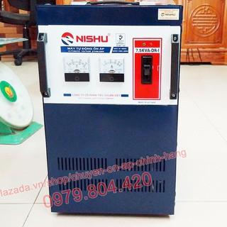 Ổn Áp Nishu 7,5KVA DR-I dải 50-250V, bảo hành 4 năm, dây đồng - nishu7,5kva-50v thumbnail