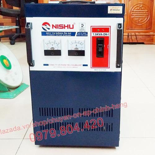 Ổn Áp Nishu 7,5KVA DR-I dải 50-250V, bảo hành 4 năm, dây đồng - 6885745 , 13608117 , 15_13608117 , 4320000 , On-Ap-Nishu-75KVA-DR-I-dai-50-250V-bao-hanh-4-nam-day-dong-15_13608117 , sendo.vn , Ổn Áp Nishu 7,5KVA DR-I dải 50-250V, bảo hành 4 năm, dây đồng