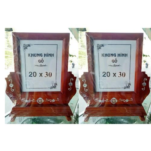 combo bộ 2 khung ảnh thờ gỗ cỡ 20x30 cm - 6879901 , 13601076 , 15_13601076 , 425000 , combo-bo-2-khung-anh-tho-go-co-20x30-cm-15_13601076 , sendo.vn , combo bộ 2 khung ảnh thờ gỗ cỡ 20x30 cm