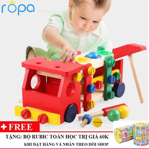 Xe lắp ráp đập bóng đồ chơi gỗ an toàn cho bé - 4587399 , 13590179 , 15_13590179 , 338000 , Xe-lap-rap-dap-bong-do-choi-go-an-toan-cho-be-15_13590179 , sendo.vn , Xe lắp ráp đập bóng đồ chơi gỗ an toàn cho bé