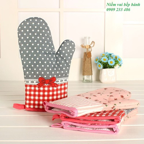 Găng tay chống nóng tiện lợi