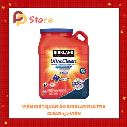 Viên giặt xả quần áo Kirkland Ultra Clean|vien giat quan ao kirkland xuất xứ Mỹ 152 viên - 6872324 , 13592698 , 15_13592698 , 710000 , Vien-giat-xa-quan-ao-Kirkland-Ultra-Cleanvien-giat-quan-ao-kirkland-xuat-xu-My-152-vien-15_13592698 , sendo.vn , Viên giặt xả quần áo Kirkland Ultra Clean|vien giat quan ao kirkland xuất xứ Mỹ 152 viên