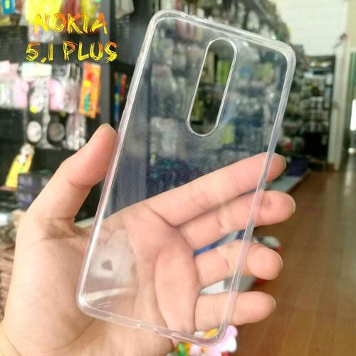 Ốp Lưng Nokia 5.1 Plus Dẻo Trong Suốt Loại Tốt