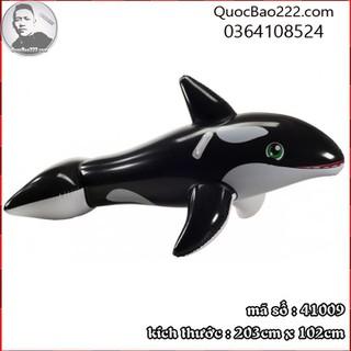 Phao bơi hình cá heo 2.03m x 1.02m - Bestway 41009 - a41009 thumbnail