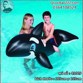 Phao bơi hình cá heo 2.03m x 1.02m - Bestway 41009 - e41009 thumbnail