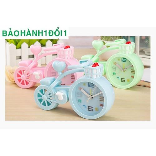 Đồng hồ xe đạp + pin tiểu