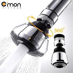Đầu vòi rửa điều hướng 360 độ với 2 chế độ nước C'mon DV-01