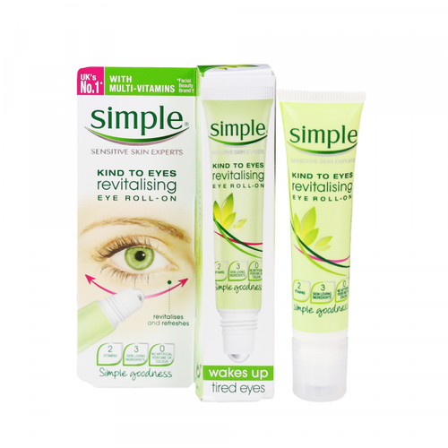 Lăn Dưỡng Mắt Simple Kind To Eyes Revitalising Eye Roll-On 15ml